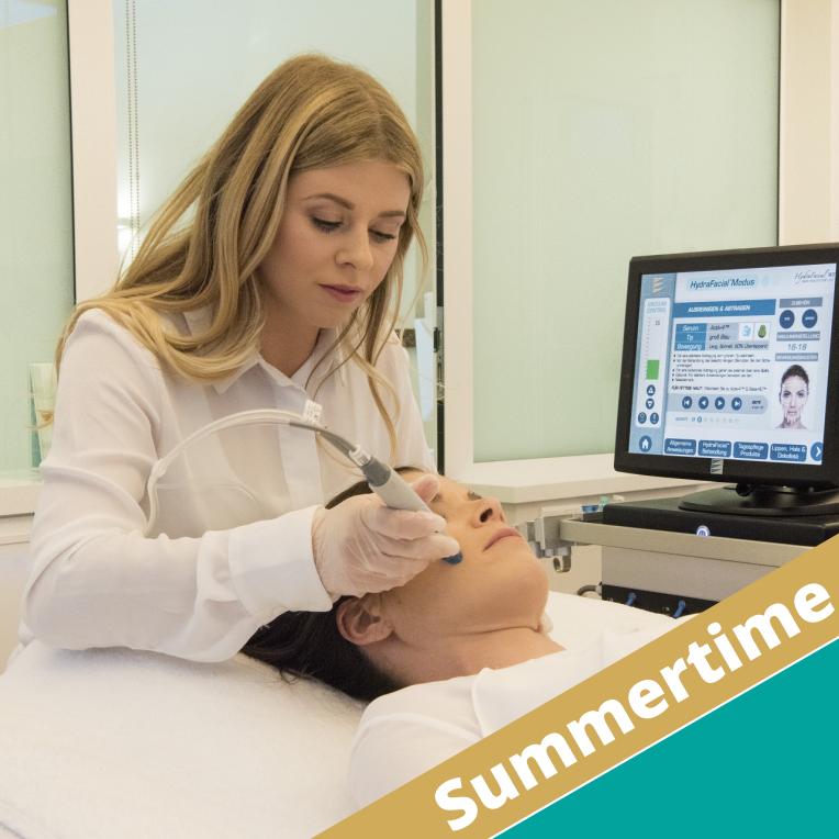 Summertime – Behandlungen ohne Ausfallzeiten